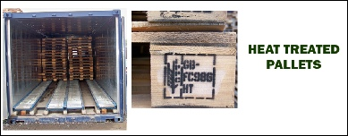 Heat Treated Pallets